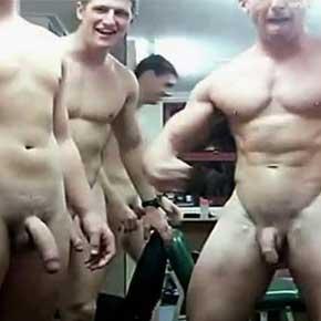 Soldados americanos na punheta via webcam