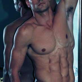 Luke Gulbranson pelado ensaio sensual