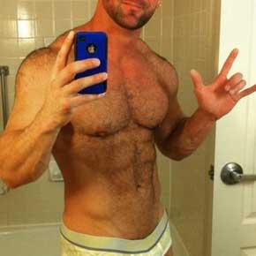 fotos homens fortes de cueca gay