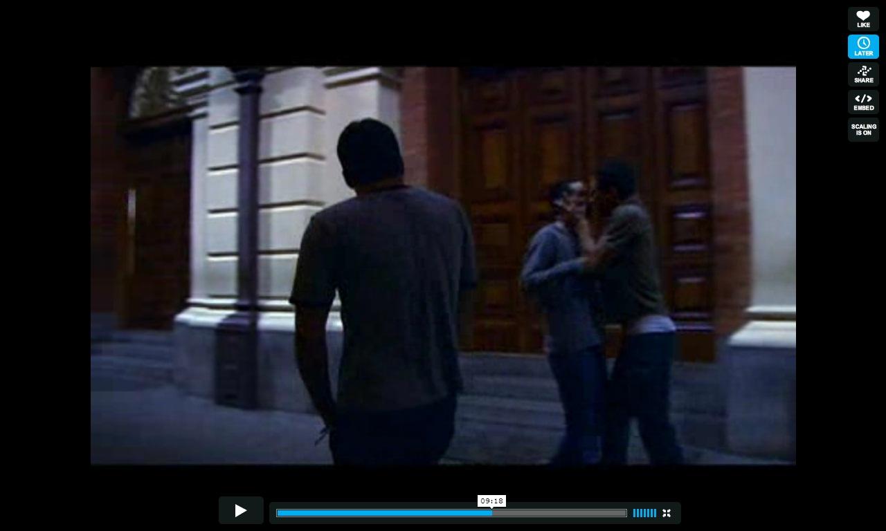 Dudu Pelizzari beijo gay