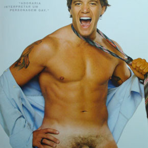 Replay | David Cardoso Jr pelado na G Magazine 2007