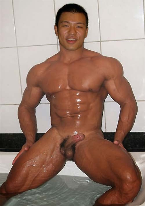 asian men naked asiatico pelado pica pequena