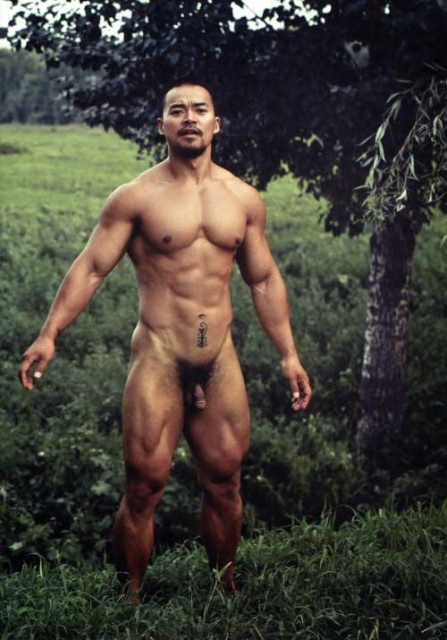 hot men asian naked super muscle
