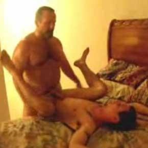 Casa de sexo maduro com