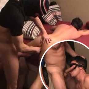 Estuprando o garotão gostoso em casa - Sexo Violento Bareback