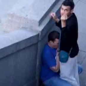 Spy Cam | Chupando o macho no meio da rua - Amador