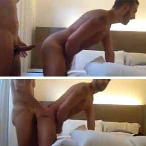 sexo-gay-bareback-Saca-aquele-barbudo-gatinho-Ele-tem-fogo-no-cu--Amador