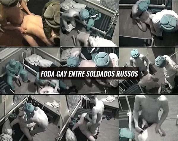 Sexo gay russo video pornô amador soldados da russia