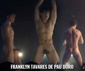 gogoboy Franklyn Tavares pau duro boate vogue natal