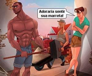 desenho animado gay marreta do hetero