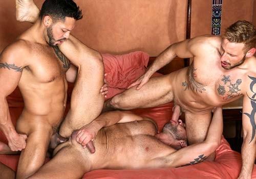 sexo gay Letterio Amadeo Viktor Rom Antonio Miracle