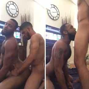 negros gays árabes