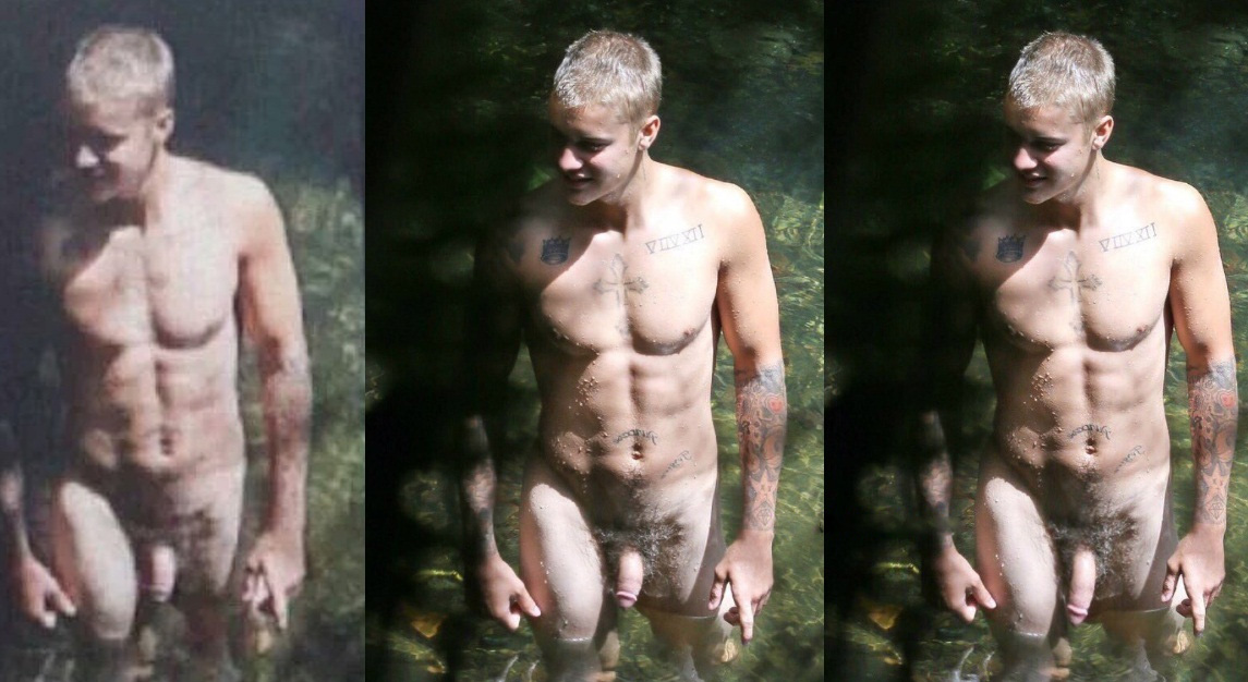 Justin Bieber naked in Havaí