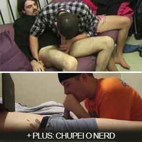 hetero faz boquete no pau pentelhudo + amigo convence nerd a transar boysnaweb.net