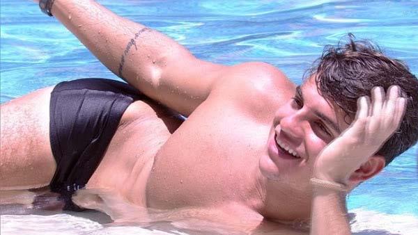 antonio bbb17 sunga piscina