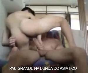 asiatico arrebentado pau grande sexo anal gay amador putaria caseira bareback