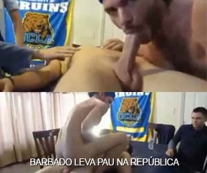 barbado leva pau colega faculdade republica gay sexo