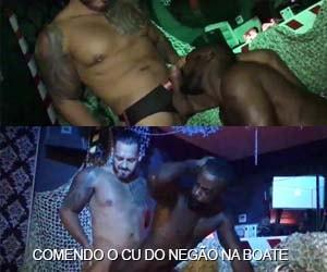 viktor rom fode bunda negro passivo palco boate gay