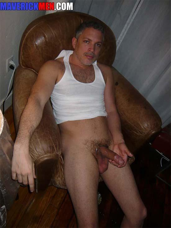 paizao bem dotadoo grisalho pelado coler maverickmen