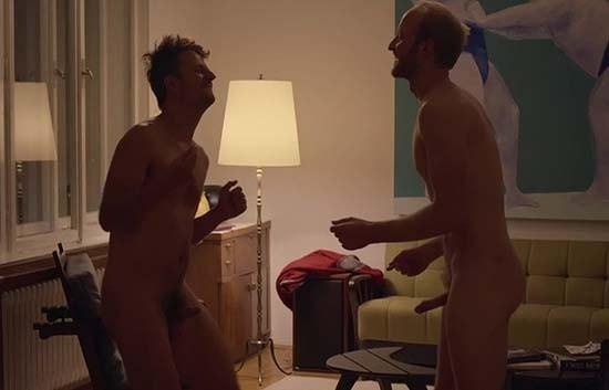 atores filme transando Philipp Hochmair e Lukas Turtur pau duro