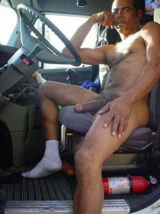 caminhoneiro negro pelado pau grande