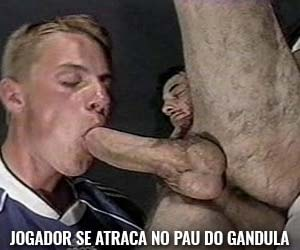 jogador futebol amador sexo gay oral gandula