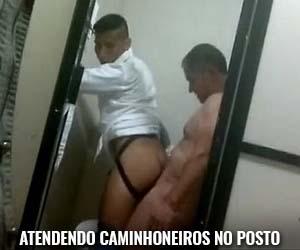 boliviano faz sexo gay caminhoneiro posto de gasolina