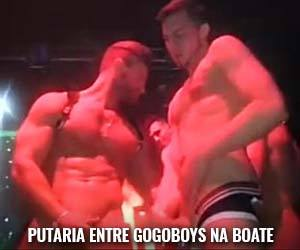 gay putaria entre gogoboy sexo amador na boate