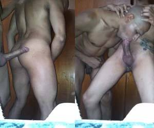 magro roludo sexo anal bareback negro passivo