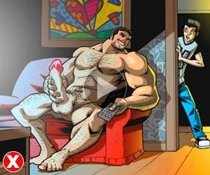 assistir historia em quadrinho gay